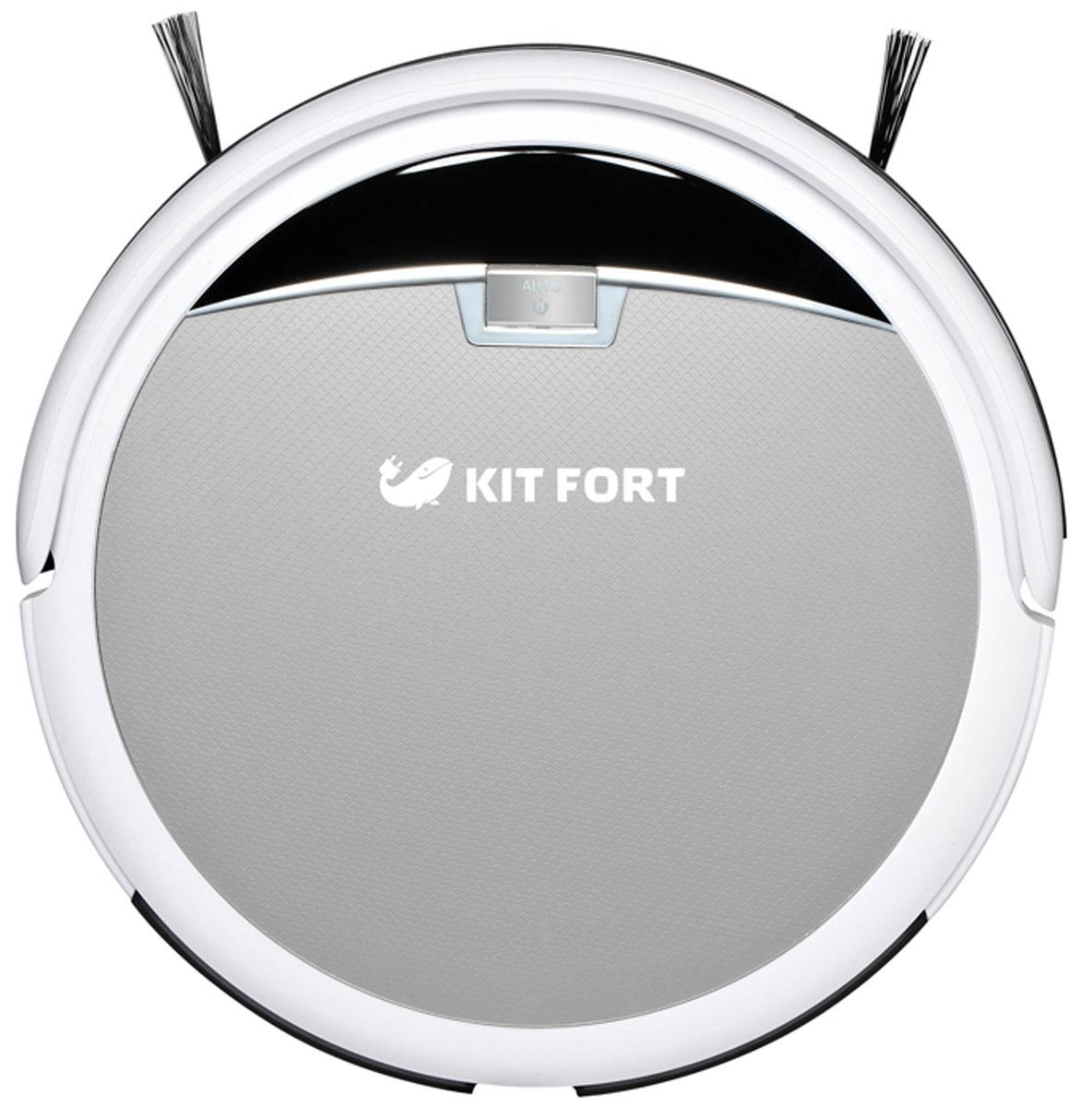 Kitfort KT-519-2, Silver робот-пылесос ( KT-519-2 серебро )