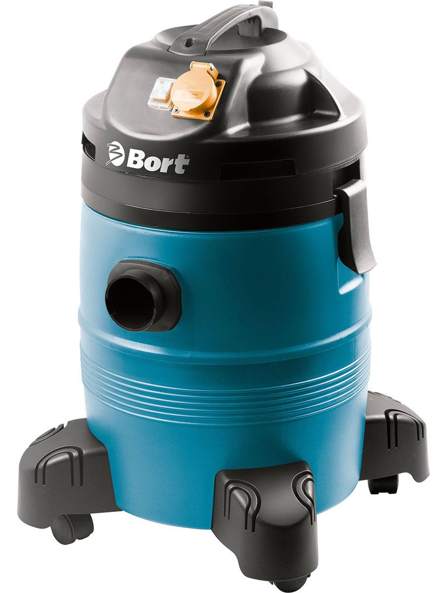 Пылесос промышленный Bort BSS-1335-Pro98297072Профессиональный пылесос для сухой и влажной уборки Bort BSS-1335-Pro снабжен баком на 35 литров, который изготовлен из высокопрочной пластмассы. Для легкой очистки бака после уборки жидкости имеется удобная сливная пробка. Используя розетку на корпусе пылесоса, вы подключаете электроинструмент мощностью до 2000 Ватт и работаете без пыли и мусора. Это не только забота о своем здоровье, но и экономия времени: рабочее место теперь практически чистое. Функция выдува, удобные колеса, комплектация несколькими щетками - небольшая часть преимуществ, которыми обладает этот профессионал. Его наработка на отказ составляет свыше 1000 часов непрерывной работы! Это все позволяет относить пылесос BORT BSS-1335-Pro к классу индустриальных. Напряжение: 220-240В. Потребляемая мощность: 1400 Вт. Мощность всасывания: 680 Вт. Емкость пылесборника: 35 л. Разрежение: 24 кПа. Расход воздуха: 3480 л/мин. Длина шланга: 1,5 м. Уровень шума: 82 Дб. Диаметр...
