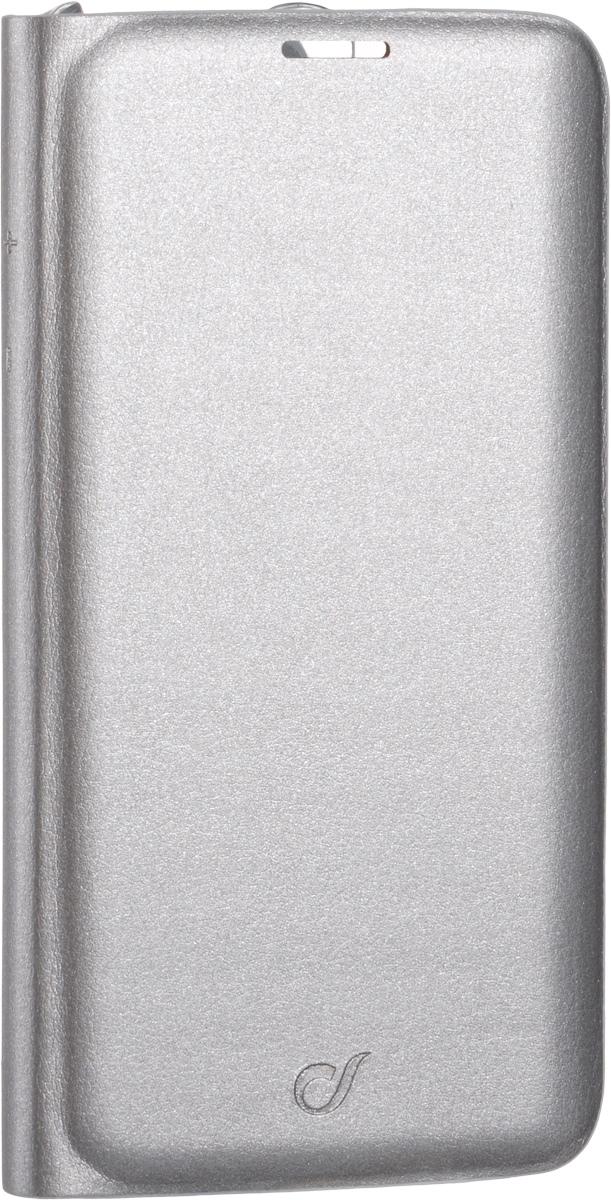 Cellular Line чехол для Samsung Galaxy S7 Edge (25981), SilverBACKBOOKGALS7ES (25981)Мягкий и качественный чехол Cellular Line для вашего смартфона Samsung Galaxy S7 Edge, выполненный в классическом цвете. Отлично защитит устройство от царапин, пыли и грязи. Все разъемы и элементы управления устройством легко доступны.