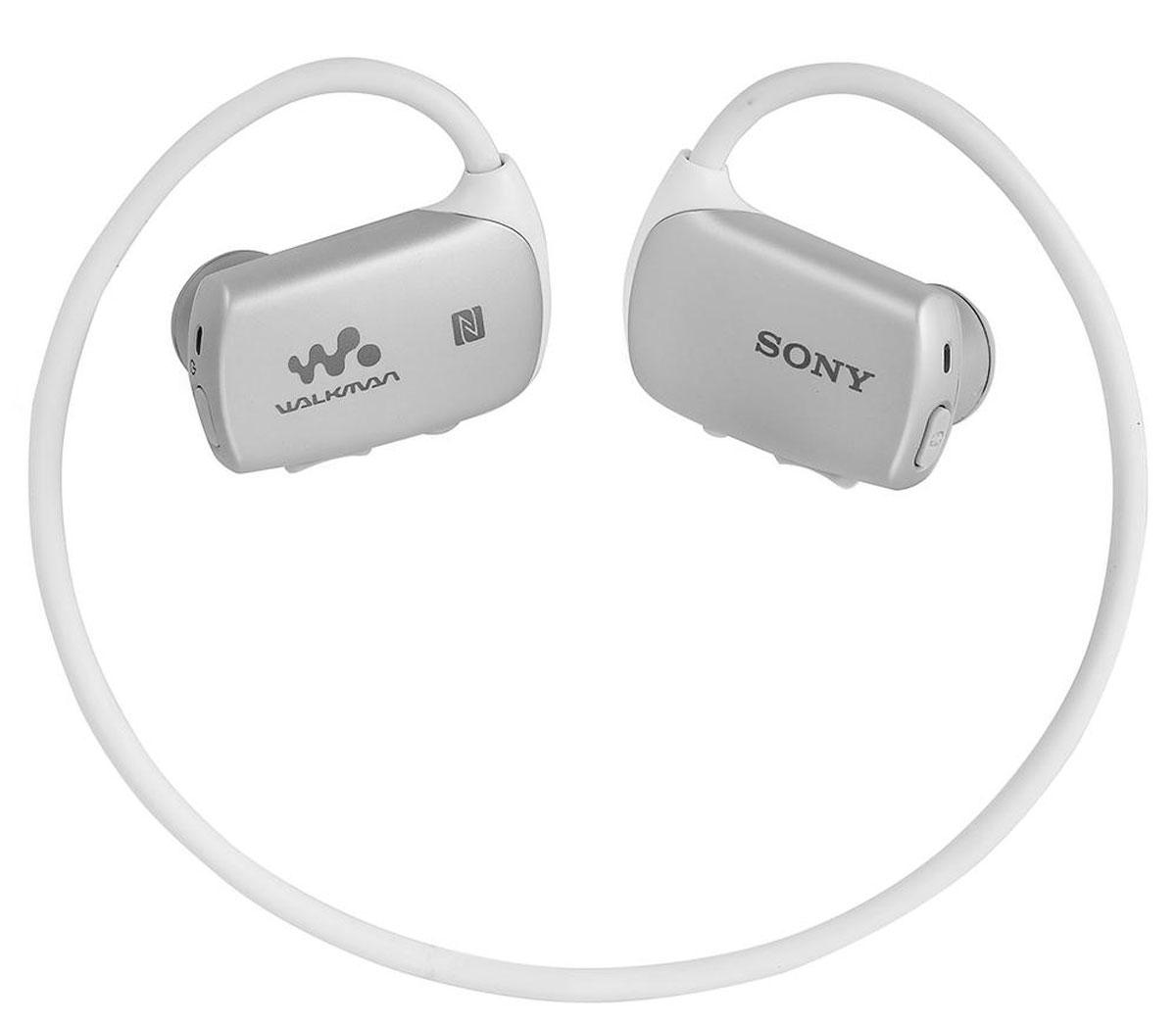 Sony NWZ-WS613 4Gb, White MP3-плеерNWZ-WS613 белыйSony NWZ-WS613 - водостойкий универсальный Walkman со встроенной памятью 4 ГБ, NFC, Bluetooth, SoundMix и пультом ДУ. Теперь с любимой музыкой можно окунуться или поплавать. Этот Walkman обладает водостойкостью на глубине до 2-х метров, что позволяет ему выдерживать не только брызги воды. Сохраните плейлист для занятий спортом на Walkman и тренируйтесь в бассейне под любимую музыку. Данная модель может работать в воде на протяжении 30 минут. Для использования плеера в воде необходимо также использовать вкладыши для плавания. Благодаря технологии NFC (Near Field Communication) больше не нужны ни провода, ни сложные подключения. Достаточно приложить смартфон или другое NFC-совместимое устройство к N-метке на корпусе, и сразу же начнется воспроизведения музыки. Нет NFC? Ничего страшного. Сопряжение можно также установить вручную в разделе настроек Bluetooth. Удобное управление музыкой в любой ситуации и при любой погоде благодаря...