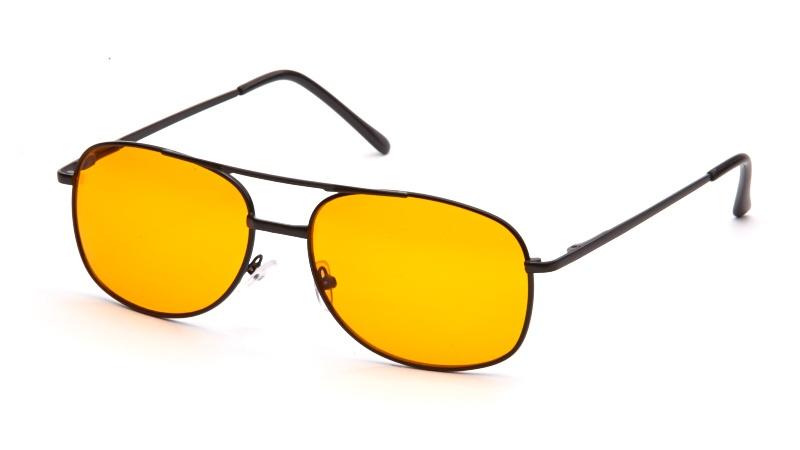 АЛИС 96 Очки антифары AC001 черный, оранжевый