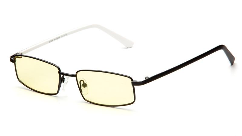 АЛИС 96 Очки компьютерные premium AF028 черно-белый, желтоватый