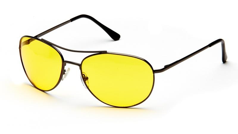 АЛИС 96 Очки водительские (непогода) comfort AD009 черный, желтый