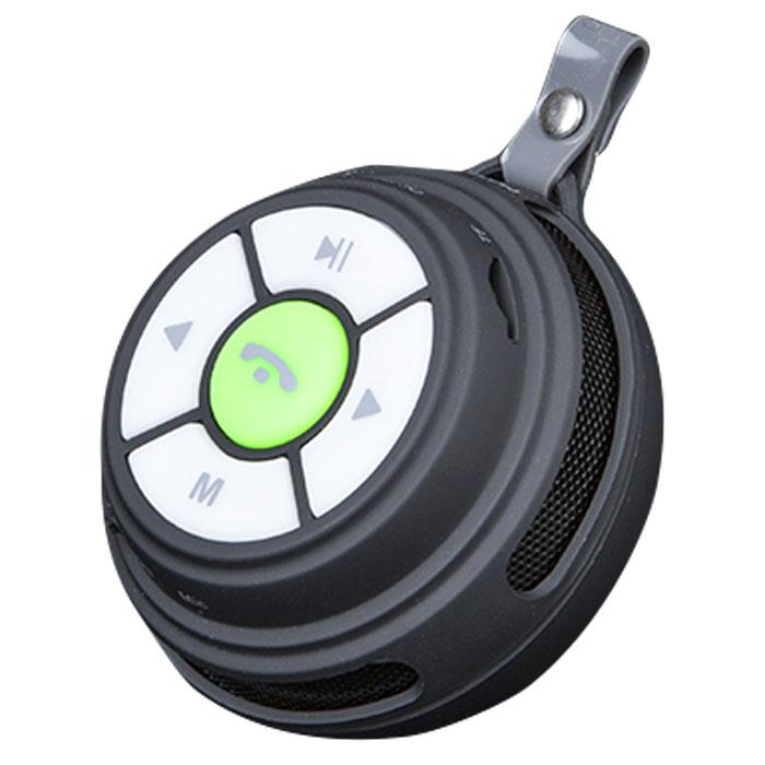 Marvo SV-160 BK, Black портативная акустическая системаSV-160 BKMarvo SV-160 BK - это компактная и стильная Bluetooth колонка, которую легко можно взять с собой в дорогу. Мощность динамика составляет 3 Вт. Данная модель имеет функцию громкой связи при подключении к ней вашего смартфона. Bluetooth - это стандарт беспроводной связи малой дальности, который позволяет установить высокоскоростное соединение между устройствами. Его основные достоинства - это отсутствие проводов для подключения и нет необходимости в том, чтобы устройства находились в прямой видимости друг от друга. Аккумулятор: 520 мАч Поддержка карт памяти: microSD FM-радио