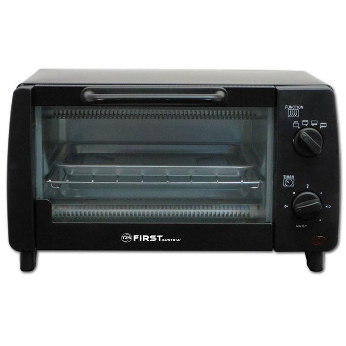 First FA 5041-1, Black мини-печьFA 5041-1 BlackМини-печь First FA 5041-1 имеет объем 9 литров и мощность 800 Вт. Этот компактный прибор пригодится на любой кухне. Выпекайте любимые пироги и блюда с комфортом. Внутренняя поверхность имеет долговечное эмалевое покрытие. Таймер на 15 минут позволит рассчитать точное время приготовления блюд.