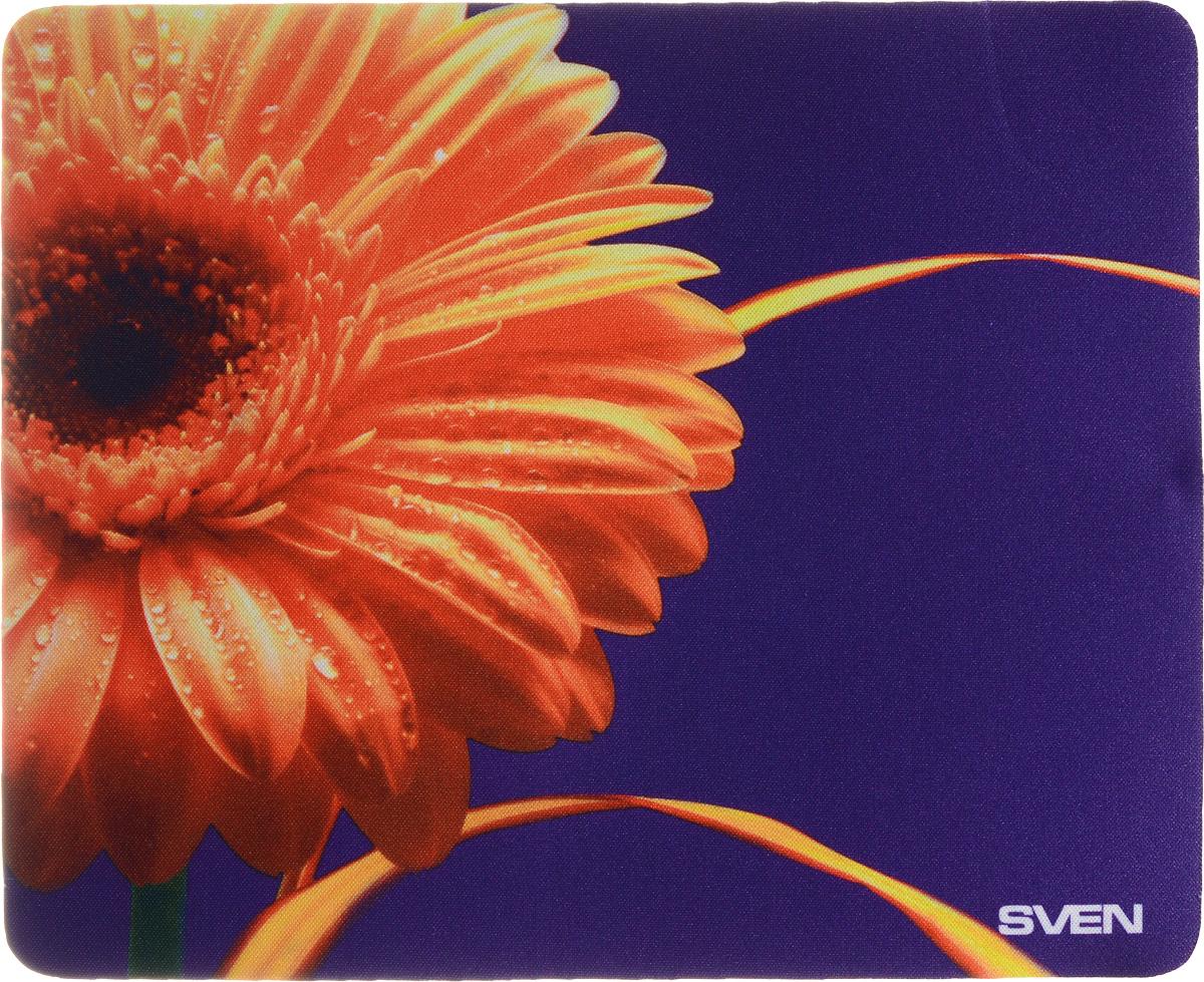 Sven SA, Orange Violet коврик для мышиSA-011147_гербераКоврик для мыши Sven SA изготовлен из 100% полиэстера и каучука - высокотехнологичных экологических материалов. Подходит как для оптической, так и для лазерной мыши. Гладкая поверхность со специальной текстурой повышает точность позиционирования мышки. Специальное нескользящее основание надежно фиксирует коврик на столе. Коврик выпускается с большим количеством различных изображений.