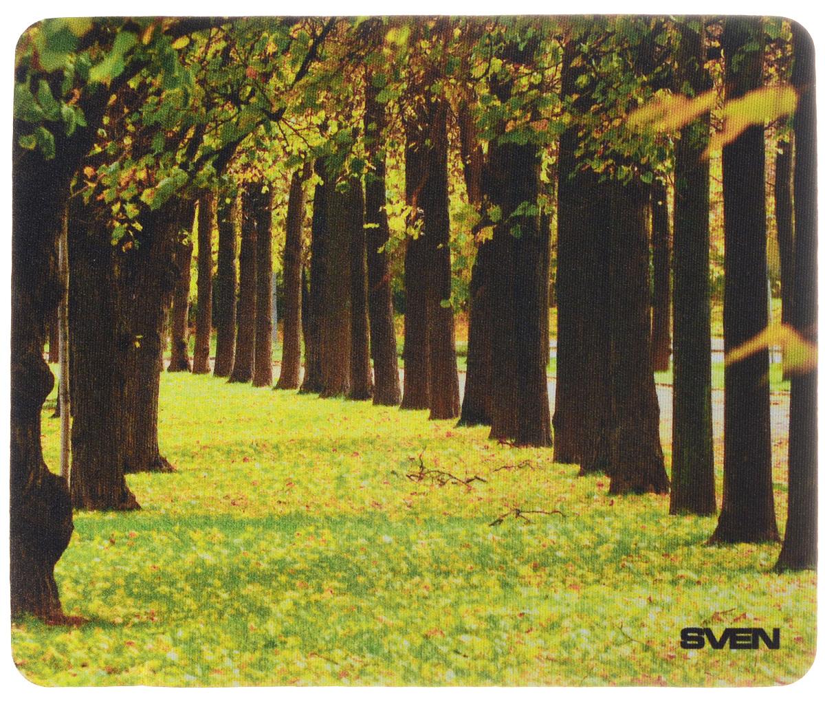 Sven SA, Yellow Brown коврик для мыши коврик для мыши pcpet colorfull nature rgm02 голубой с рисунком 648600