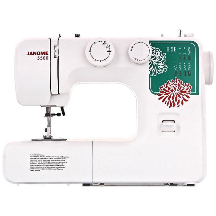 Janome 5500 швейная машинаJanome5500Janome 5500 - отличный вариант для начинающих швей, а также для тех, кто собирается использовать машинку лишь от случая к случаю. Модель отличается доступной ценой, приятным дизайном и простотой в эксплуатации. Максимальная скорость работы достигает 600 стежков в минуту – для начинающей швеи этого более, чем достаточно. Устройство выполняет 15 различных видов строчек, включающие в себя не только рабочие, но и декоративные. Предусмотрено несколько швов для работы с тянущимися трикотажными материалами. Для хранения мелких швейных принадлежностей внутри корпуса расположен специальный ящик. Благодаря комплекту шпулек удобно шить нитками различного цвета. Также в набор входят различные лапки: для выполнения петель, для вшивания молнии, для выполнения потайного шва, а также стандартная лапка. Кнопка реверса поможет вам надежно закрепить концы строчек. Длину и ширину стежка вы регулируете вручную, подстраиваясь под выбранный тип ткани. Для работы с...