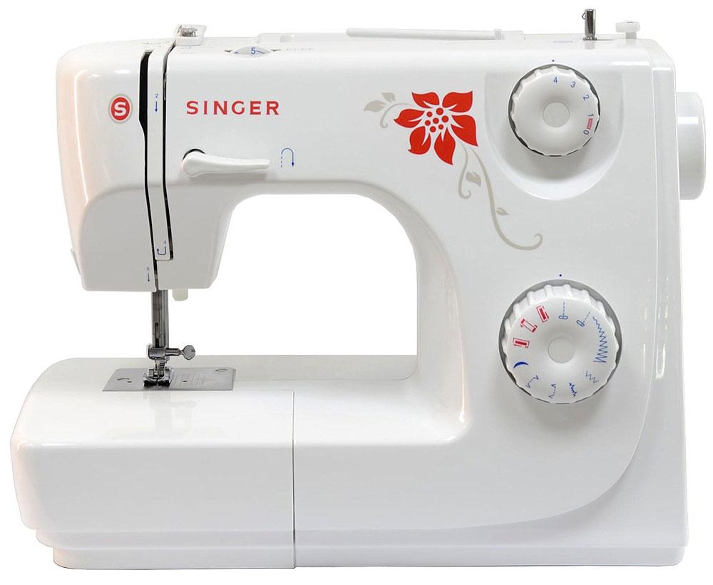 Singer 8280 P швейная машина8280PНедорогая компактная швейная машина Singer 8280 умеет делать все основные швейные операции и отлично подойдет для обучения шитью, ремонта одежды, шитья несложных вещей и других подобных работ. Хранить запасные шпульки и иголки, нитки и ножницы удобнее во встроенном в Singer 8280 отсеке для аксессуаров. Работу с узкими деталями одежды значительно облегчит свободный рукав. Данная модель станет отличным приобретением для экономных людей, которые предпочитают дорогому ремонту одежды в швейных ателье ремонт в домашних условиях.