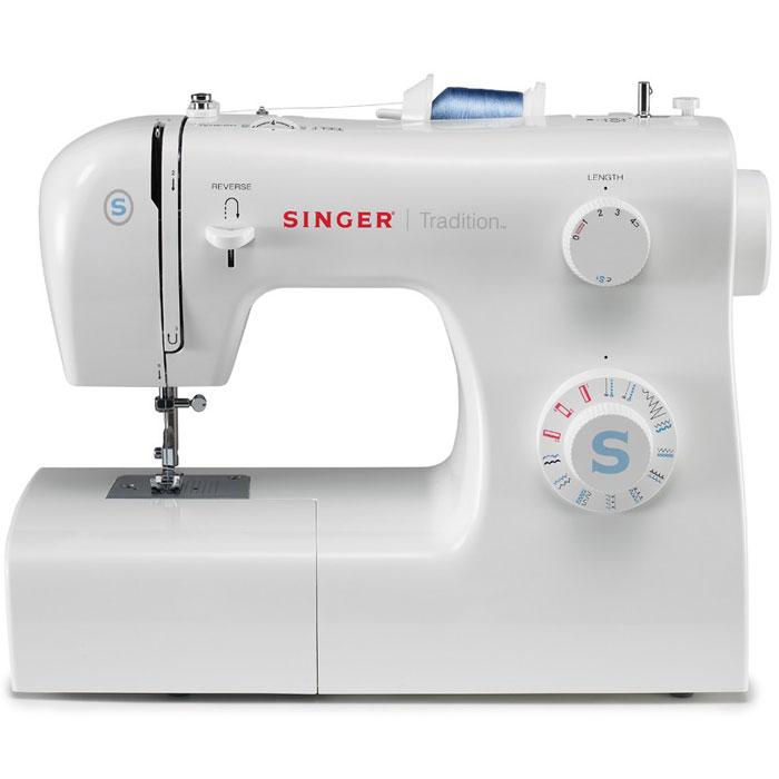 Singer Tradition 2259 швейная машинаTradition2259Недорогая классическая швейная машина Singer Tradition 2259 имеет расширенный набор строчек, умеет делать все основные швейные операции и отлично подойдет для обучения шитью, ремонта и шитья одежды и предметов домашнего обихода, а также для других подобных работ. Данная модель имеет простое управление. Она сочетает в себе широкие функциональные возможности, высокое качество и современный дизайн. Машинка выполняет 19 швейных операций, в которые входят полуавтоматические петли, эластичные, усиленные, классические и другие строчки. Освещение рабочей области способствует более комфортной работе при слабом свете.
