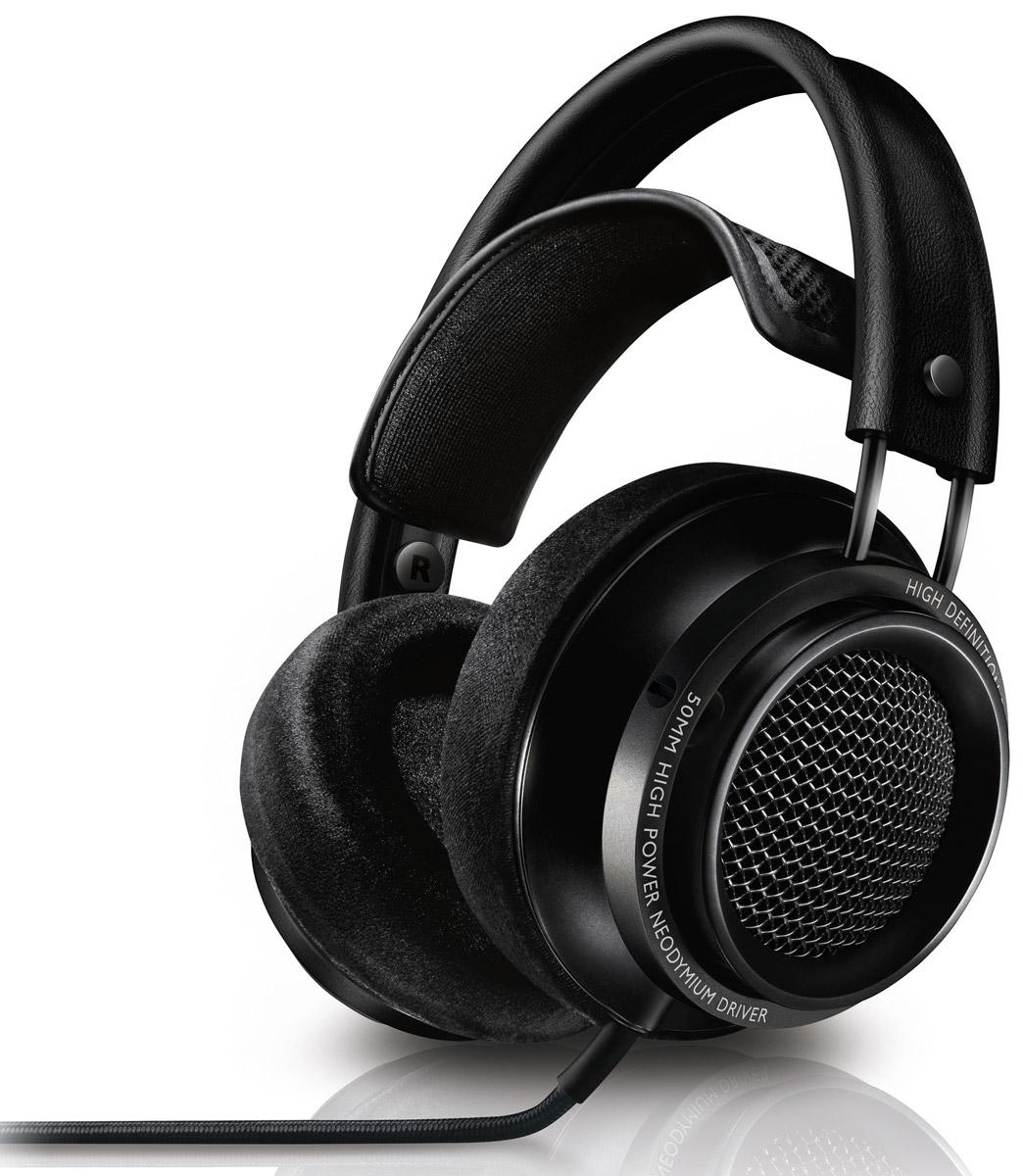 Philips Х2/00 наушникиX2/00Наушники Philips Х2/00 - это звук высокой четкости студийного качества в комфортных домашних условиях. Данная модель соответствует строжайшим стандартам качества и сертифицирована для воспроизведения звука высокого разрешения. Независимо от источника звука, будь то коллекция высококачественных музыкальных треков или более традиционные музыкальные композиции, наушники Fidelio обеспечивают безупречное звучание с расширенным диапазоном высоких частот, что позволяет открыть для себя новые грани музыки. Каждый динамик старательно отбирают, настраивают и тестируют, подбирая пары для гарантии детализированного естественного звучания. В 50-мм излучателях используются высокомощные неодимовые магниты для воспроизведения всех нюансов музыки: сбалансированных четких басов, ясных средних частот и точных высоких частот. Акустическая конструкция открытого типа исключает воздушное давление позади излучателя, обеспечивая свободное движение диафрагмы,...