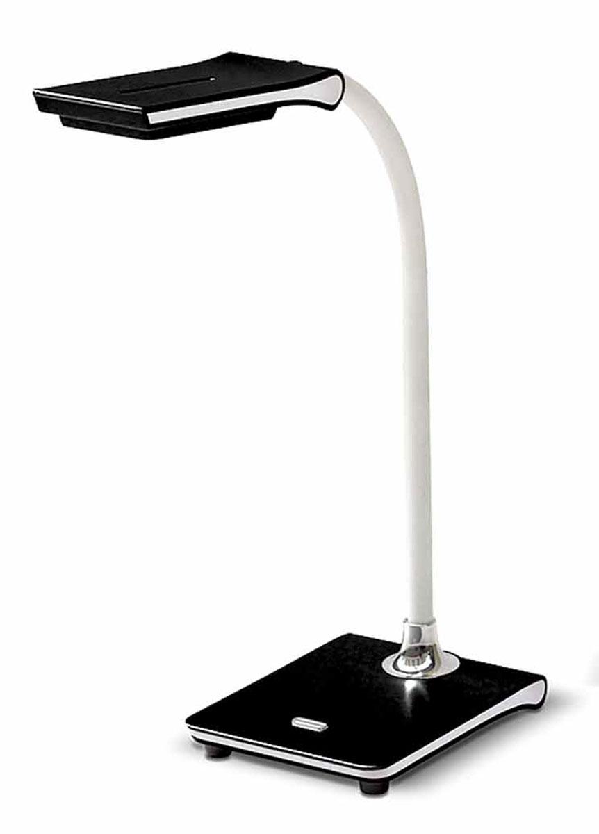 Настольная лампа Лючия Pegas, цвет: черный, 4 WЛЮЧИЯ L490 чернаяЛампа настольная ЛЮЧИЯ L490 Pegas черная св/диодная 4Вт 4000K USB разъем Настольная лампа ЛЮЧИЯ L490 Pegas черная светодиодная 4W 4000K, USB разъем Гибкий штатив для оптимального направления света. USB-разъем 5В 500 мА Цветовая температура света 4000К
