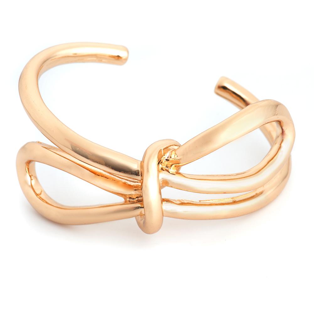 Браслет жен. Selena Street Fashion, цвет: золотистый. 4005833040058330Гальваническое покрытие: золото.