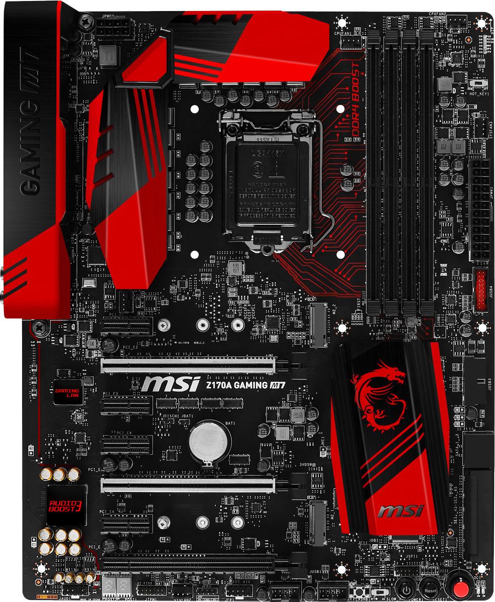 MSI Z170A Gaming M7 материнская плата
