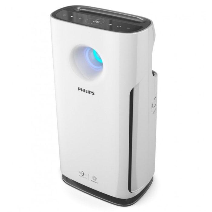 Philips AC3256/10, White очиститель воздухаAC3256/10Очиститель воздуха Philips с технологией VitaShield IPS, включающей профессиональную систему фильтрации и индикатор качества воздуха в режиме реального времени AeraSense. Подходит для использования в любой комнате площадью до 76 м2. Запатентованная технология определения уровня загрязненности воздуха AeraSense: Более высокая чувствительность сенсоров к загрязняителям В 8 раз более точные показания уровня загрязненности воздуха по сравнению с другими непрофессиональными датчиками Отражение конценрации загрязняющих веществ (мг/м3) в воздухе в числовом формате в режиме реального времени Профессиональная 3-уровневая система фильтрации NanoProtect S3: Улавливает 99.97% бактерий, пыль и другие аллергены Система включает в себя следующие фильтры: 1. Фильтр предварительной очистки: улавливает крупные загрязняющие частицы, такие как волосы, шерсть животных, пух, пыль. 2. Угольный фильтр: нейтрализует неприятные запахи и...