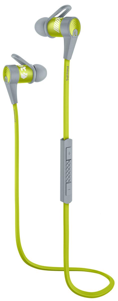 Philips SHQ7300LF/00 спортивные наушникиSHQ7300LF/00Микроизлучатели спортивных наушников Philips SHQ7300 воспроизводят плотные басы и сбалансированный звук, а фиксаторы обеспечивают безопасную посадку. Благодаря возможности сопряжения одним касанием с помощью NFC и защите от влаги IPX2, эти наушники - идеальный выбор для любителей спорта и музыки. Технология NFC позволяет одним касанием легко подключать наушники-вкладыши Bluetooth к любому устройству с поддержкой Bluetooth. Точно настроенные микроизлучатели обеспечивают превосходное качество звука при прослушивании музыки на наушниках-вкладышах с поддержкой Bluetooth. Точные 6-мм микроизлучатели и микросхема со встроенным эквалайзером и функцией Bluetooth позволили Philips создать компактный и удобный форм-фактор спортивных наушников SHQ7300 и обеспечить воспроизведение мощного и сбалансированного звука. Материалы изделия имеют класс защиты IPX2, поэтому модель SHQ7300 идеально подходит для использования на улице и во время занятий...