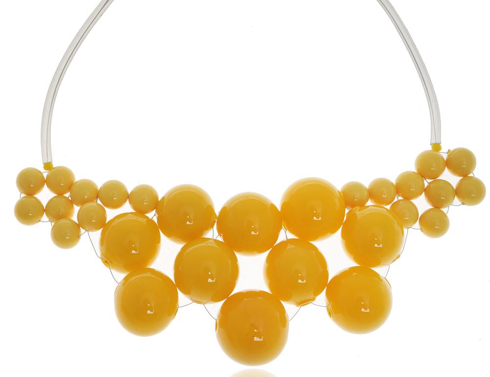 Колье Лимонное настроение. Муранское стекло, каучук, ручная работа. Murano, Италия (Венеция)12-0970-181Колье Лимонное настроение. Муранское стекло, каучук, ручная работа. Murano, Италия (Венеция). Размер: полная длина 43 см. Каждое изделие из муранского стекла уникально и может незначительно отличаться от того, что вы видите на фотографии.