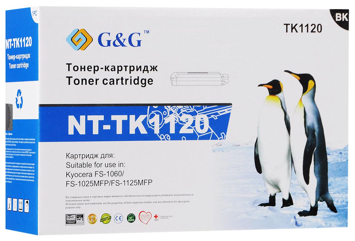 G&G NT-TK1120 тонер-картридж для Kyocera FS-1060/1025MFP/1125MFPNT-TK1120Тонер-картридж G&G NT-TK1120 для лазерных принтеров Kyocera FS-1060/1025MFP/1125MFP. Расходные материалы G&G для лазерной печати максимизируют характеристики принтера. Обеспечивают повышенную чёткость чёрного текста и плавность переходов оттенков серого цвета и полутонов, позволяют отображать мельчайшие детали изображения. Обеспечивают надежное качество печати.