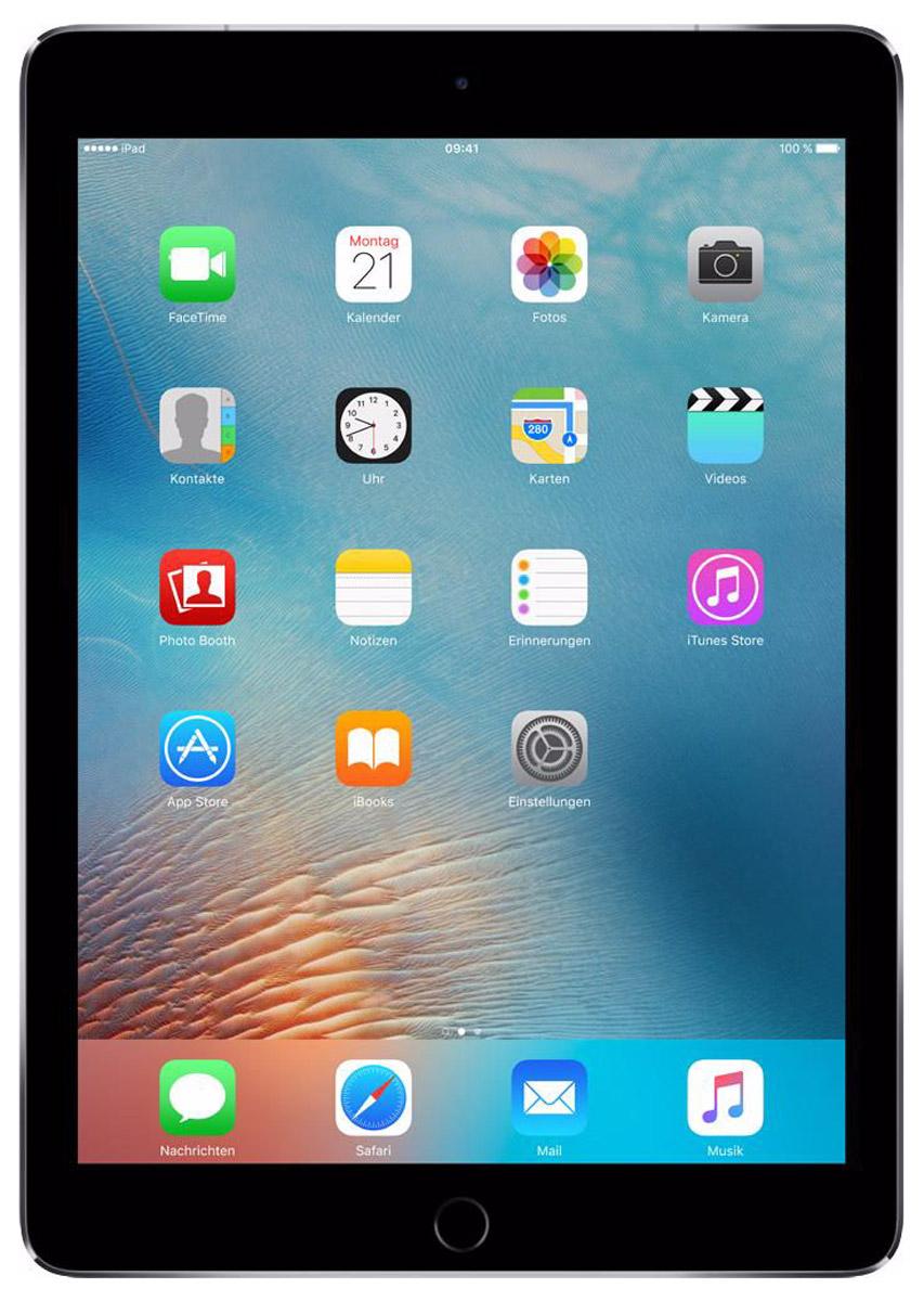 Apple iPad Pro 9,7 Wi-Fi + Cellular 128GB, Space GrayMLQ32RU/AiPad Pro с дисплеем 9,7 дюйма весит менее 500 граммов и оснащен новым профессиональным дисплеем Retina с более высокой яркостью, расширенной цветовой палитрой и сниженным уровнем отражения. В новом iPad Pro также используется режим Night Shift и технология дисплея True Tone, позволяющая значительно улучшить регулировку баланса белого. Для невероятной производительности в устройстве установлен процессор A9X с 64-битной архитектурой, который превосходит по мощности большинство портативных компьютеров PC. Аудиосистема с четырьмя динамиками стала в два раза мощнее. Новая 12-мегапиксельная камера iSight позволяет снимать Live Photos и видео 4K. iPad Pro также оснащён 5-мегапиксельной HD-камерой FaceTime и поддерживает более быстрые беспроводные технологии. Кроме того, устройство совместимо с уникальным Apple Pencil и новой клавиатурой Smart Keyboard, созданной специально для iPad Pro с дисплеем 9,7 дюйма. В 9,7-дюймовом дисплее нового iPad Pro...