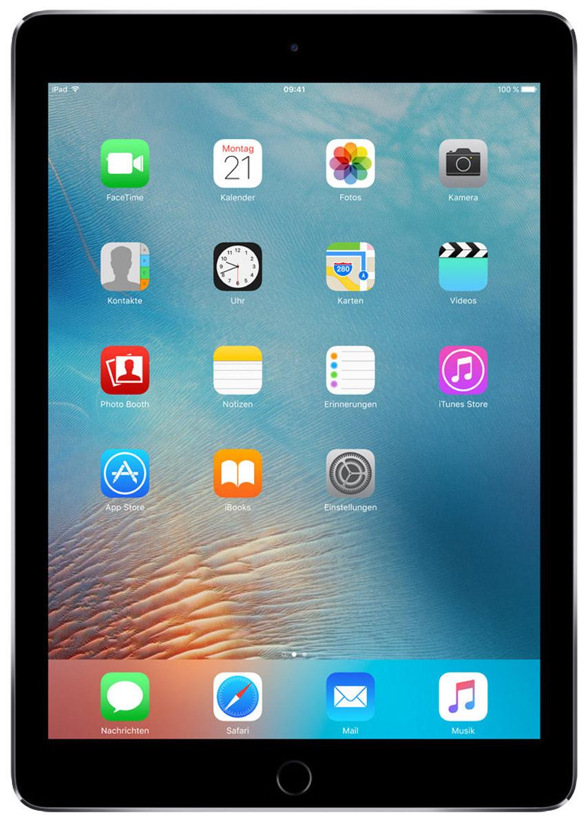 Apple iPad Pro 9,7 Wi-Fi 256GB, Space GrayMLMY2RU/AiPad Pro с дисплеем 9,7 дюйма весит менее 500 граммов и оснащен новым профессиональным дисплеем Retina с более высокой яркостью, расширенной цветовой палитрой и сниженным уровнем отражения. В новом iPad Pro также используется режим Night Shift и технология дисплея True Tone, позволяющая значительно улучшить регулировку баланса белого. Для невероятной производительности в устройстве установлен процессор A9X с 64-битной архитектурой, который превосходит по мощности большинство портативных компьютеров PC. Аудиосистема с четырьмя динамиками стала в два раза мощнее. Новая 12-мегапиксельная камера iSight позволяет снимать Live Photos и видео 4K. iPad Pro также оснащён 5-мегапиксельной HD-камерой FaceTime и поддерживает более быстрые беспроводные технологии. Кроме того, устройство совместимо с уникальным Apple Pencil и новой клавиатурой Smart Keyboard, созданной специально для iPad Pro с дисплеем 9,7 дюйма. В 9,7-дюймовом дисплее нового iPad Pro...