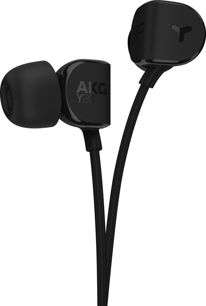 AKG Y20, Black наушникиY20BLKAKG Y20 - новые наушники-вкладыши, одновременно высокопроизводительные и очень легкие. Наушники обладают мощными 8-мм драйверами, в то время как эргономичные наклонные амбушюры FlexSoft, сделанные из силикона, плотно прилегают к уху практически в любой ситуации – AKG Y20 идеальны для активных людей. Поликарбонат, из которого выполнены наушники, делает их легкими и прочными, добавляя плюсы к поразительной внешности. AKG Y20 не просто прекрасно соответствуют ушной раковине. Они легко подключаются практически к любому портативному или домашнему источнику музыки. Корпус AKG Y20 сделан из поликарбоната для большей портативности, легкости и прочности. Вы без труда сохраните AKG Y20 в целости и сохранности с входящим в комплект чехлом для переноски. AKG Y20 поставляется с силиконовыми амбушюрами трех размеров (маленький, средний и большой), чтобы обеспечить удобную посадку для тех, кто любит слушать музыку в течение нескольких...