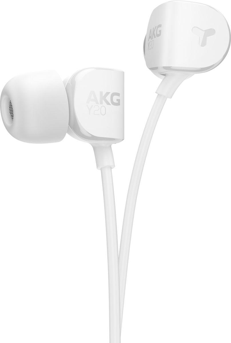 AKG Y20, White наушникиY20WHTAKG Y20 - новые наушники-вкладыши, одновременно высокопроизводительные и очень легкие. Наушники обладают мощными 8-мм драйверами, в то время как эргономичные наклонные амбушюры FlexSoft, сделанные из силикона, плотно прилегают к уху практически в любой ситуации - AKG Y20 идеальны для активных людей. Поликарбонат, из которого выполнены наушники, делает их легкими и прочными, добавляя плюсы к поразительной внешности. AKG Y20 не просто прекрасно соответствуют ушной раковине. Они легко подключаются практически к любому портативному или домашнему источнику музыки. Корпус AKG Y20 сделан из поликарбоната для большей портативности, легкости и прочности. Вы без труда сохраните AKG Y20 в целости и сохранности с входящим в комплект чехлом для переноски. AKG Y20 поставляется с силиконовыми амбушюрами трех размеров (маленький, средний и большой), чтобы обеспечить удобную посадку для тех, кто любит слушать музыку в течение нескольких...