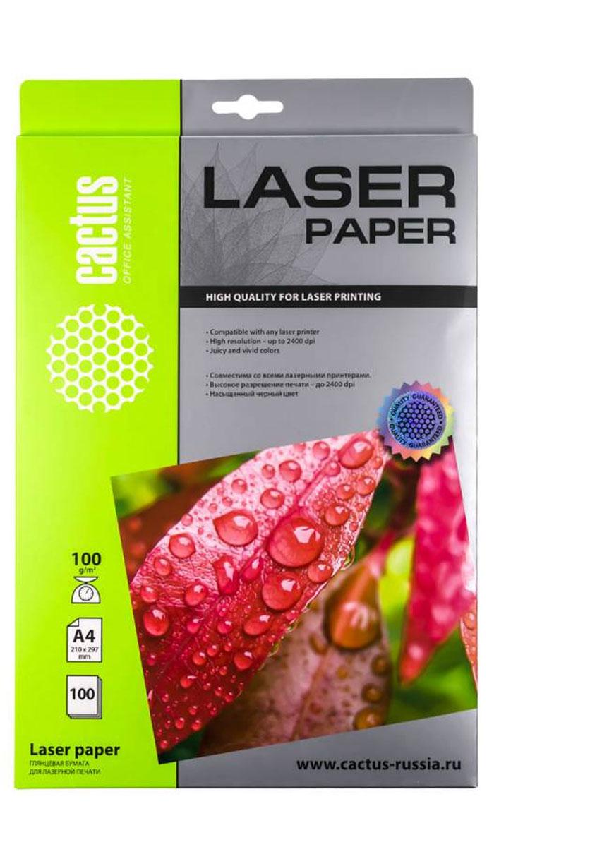 Cactus CS-LPA4100100 глянцевая фотобумага для лазерной печати