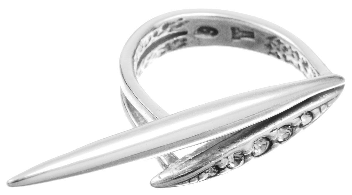 Кольцо Jenavi Бонанза, цвет: серебряный, белый. f6333000. Размер 16f6333000Оригинальное кольцо Jenavi Бонанза, выполненное из ювелирного сплава с покрытием из черненого серебра, оформлено декоративным элементом, который инкрустирован кристаллами Swarovski. Красивое и необычное украшение блестяще подчеркнет ваш изысканный вкус и поможет внести разнообразие в привычный образ.