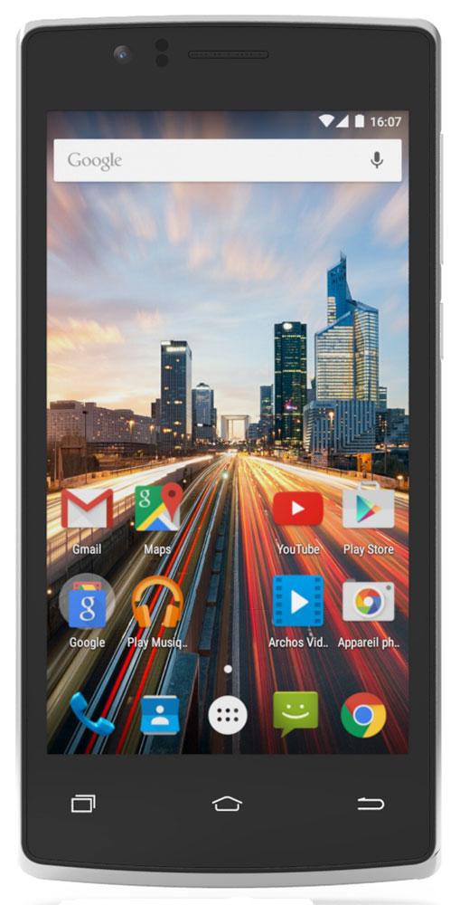 Archos 45c Helium45c HeliumArchos 45c Helium - стильный и производительный смартфон по доступной цене. Великолепный 4.5-дюймовый дисплей IPS обеспечивает яркие и насыщенные цвета в любых условиях. Мощный четырехъядерный процессор и поддержка технологии 4G обеспечивают комфортные возможности для веб- серфинга, игр и фотографии. Воспользуйтесь высокой скоростью интернета для доступа к онлайн-контенту благодаря поддержке сетей 4G/LTE. Два слота для SIM-карт позволяют использовать Archos 45c Helium как для личных контактов, так и для работы. Получайте качественные снимки с помощью основной 8-мегапиксельной камеры. А фронтальная камера позволит вести видеочат в приложениях вроде Google Hangouts, чтобы оставаться на связи с друзьями и семьей. На Archos 45c Helium предустановлена премиальная оптимизированная версия приложения Archos Video – более 15 лет опыта разработки кодеков, форматов и знания мультимедийного мобильного рынка были объединены в данном популярном...