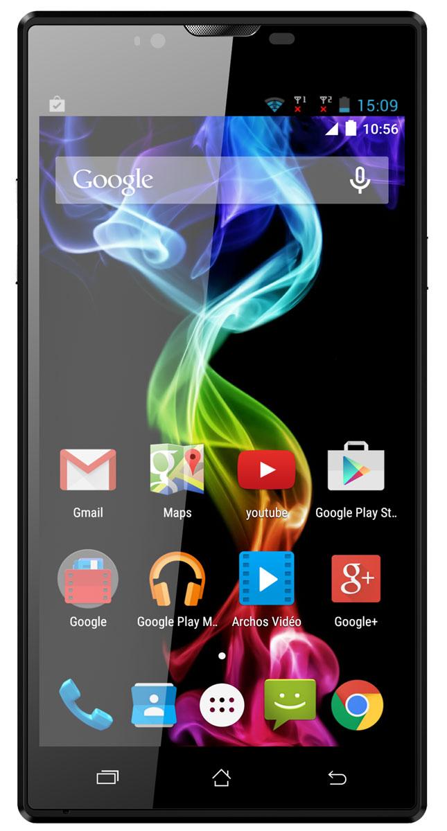 Archos 55 Platinum55 PlatinumArchos 55 Platinum обладает 5,5-дюймовым HD-экраном, подсвечивающим Android 5.1 Lollipop и революционные улучшения этой знаменитой операционной системы. С удивительной IPS-экраном, используемым в данной модели, вы получите лучше углы обзора и отличную яркость, которая не меркнет даже при ярком дневном свете. Ваши видео и фотографии будут выглядеть потрясающе благодаря высокому разрешению дисплея (1280 x 720). Archos 55 Platinum оснащен современным четырехъядерным процессором (1,3 ГГц), мощности которого достаточно для запуска ваших приложений, игр и интернет серфинга на ходу. Делайте великолепные снимки, записывайте видео в HD-качестве, используя основную 13-мегапиксельную камеру. С помощью фронтальной камеры оставайтесь на видеосвязи с друзьями и семьей с помощью приложения Google Hangouts или его аналогов. Поддержка двух сим-карт обеспечивает дополнительную гибкость, позволяя работать с двумя мобильными сетями...