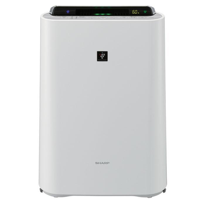 Sharp KCD61RW увлажнитель воздухаKCD61RWSharp KCD61RW - климатический комплекс, который производит очистку, увлажнение и ионизацию воздуха в вашем доме. Высокоэффективный HEPA-фильтр задерживает 99,97% всех частиц пыли. Прибор оснащен двойным сенсором пыли, который скомбинирован с датчиками температуры и влажности. Цветовая индикация уровня загрязнения имеет 5 ступеней. Индикация влажности производится с точностью +/-1 %. Уникальная технология ионизации и очистки воздуха Plasmacluster при помощи отрицательно и положительно заряженных ионов активно деактивирует переносимые по воздуху вирусы, бактерии, грибки плесени, аллергены и другие вредные примеси непосредственно в воздухе, а не в корпусе прибора. Кроме того, технология поддерживает в помещении баланс положительных и отрицательных ионов на уровне идеальных природных условий. Принцип увлажнения воздуха - традиционный (холодное испарение) - обеспечивает бережное естественное увлажнение воздуха без эффекта перенасыщения...
