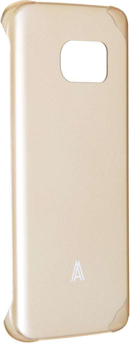 Anymode Hard Case чехол для Samsung Galaxy S7, GoldFA00105KGDЧехол Anymode Hard Case для Samsung Galaxy S7 выполнен из качественного поликарбоната. Он отлично справляется с защитой корпуса смартфона от механических повреждений и надолго сохраняет привлекательный внешний вид устройства. Чехол также обеспечивает свободный доступ ко всем разъемам и клавишам устройства.