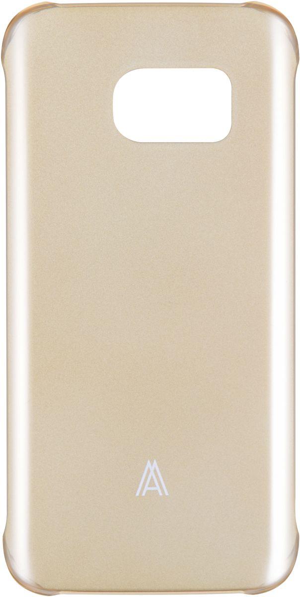 Anymode Hard Case чехол для Samsung Galaxy S7 Edge, GoldFA00113KGDЧехол Anymode Hard Case для Samsung Galaxy S7 Edge выполнен из качественного поликарбоната. Он отлично справляется с защитой корпуса смартфона от механических повреждений и надолго сохраняет привлекательный внешний вид устройства. Чехол также обеспечивает свободный доступ ко всем разъемам и клавишам устройства.