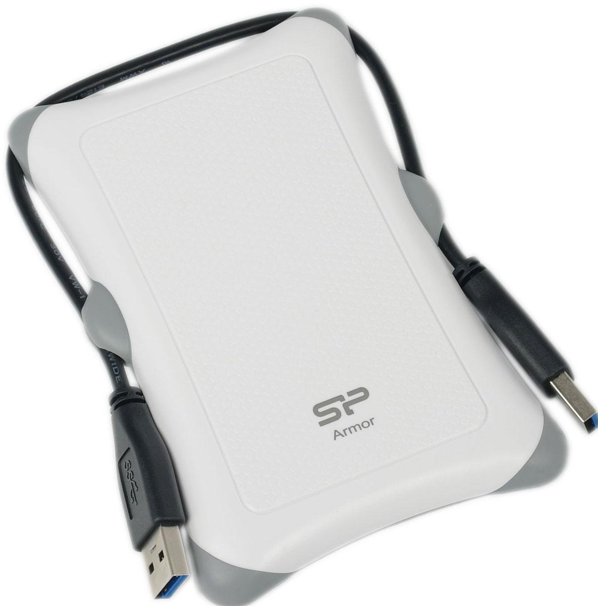 Silicon Power Armor A30 2TB, White внешний жесткий диск