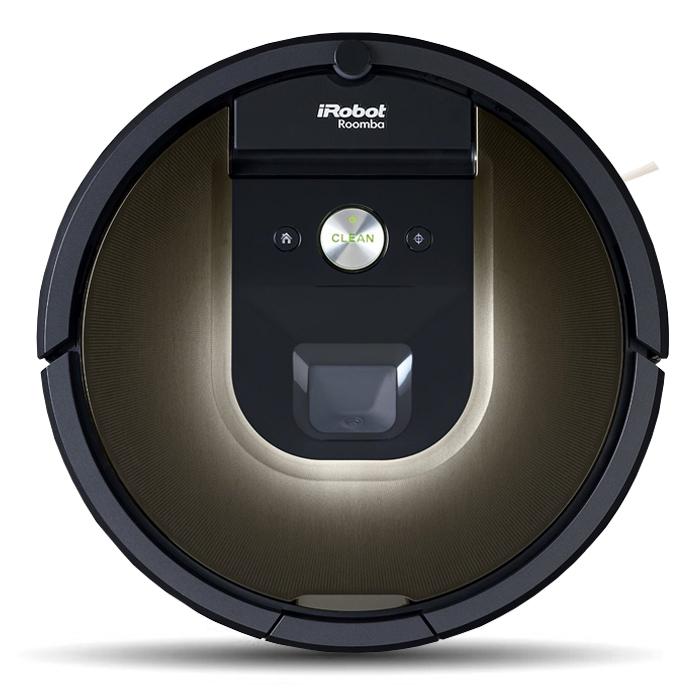 iRobot Roomba 980 робот-пылесосR980iRobot Roomba 980 – ваш новый подход к уборке. Управляйте чисткой полов в вашем доме через смартфон из любой точки мира в любое время. Roomba 980 – первый из семейства Roomba, предназначенный для полностью автономной уборки целого дома. Компактный корпус достаточно небольшой высоты – чуть больше 9 сантиметров, позволяет проникать даже под самые низко стоящие объекты, туда куда обычным пылесосом или шваброй обычно так тяжело залезть. Два подпружиненных колеса обеспечивают отличную маневренность, ведь они оснащены индивидуальными электромоторами, которые работают независимо друг от друга. А значит, Румба способна разворачиваться даже на месте. Кроме этого подпружиненная подвеска ведущих колес обеспечивает преодоление препятствий, порогов, ковров и других объектов высотой больше 5 сантиметров. Робот-пылесос оснащен множеством сенсоров, они определяют тип убираемого покрытия, количество поднятого мусора и степень загрязненности полов. Ключевые сенсоры...