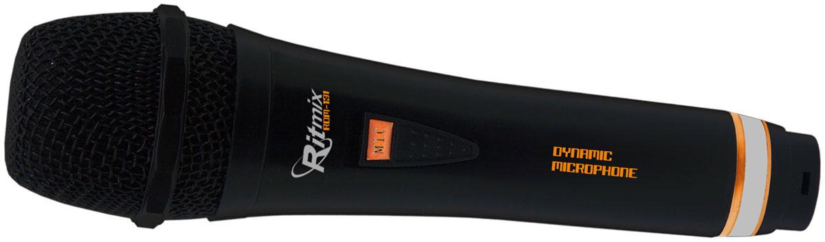 Ritmix RDM-131, Black микрофон