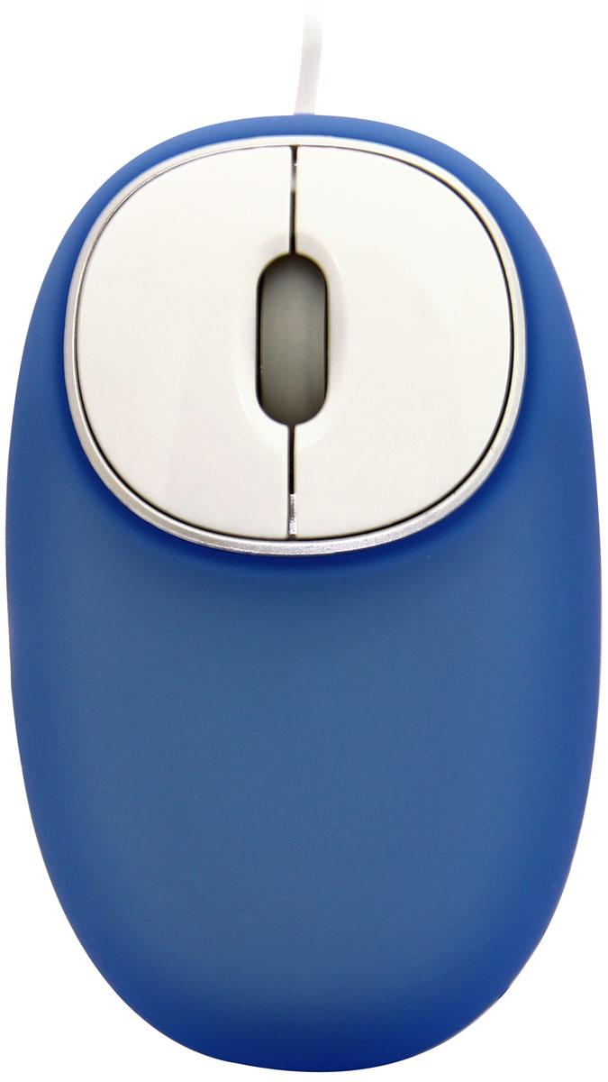 Ritmix ROM-340 Antistress, Blue мышь15116876Ritmix ROM-340 Antistress - проводная компьютерная мышь с уникальным корпусом, обеспечивающим незабываемые тактильные ощущения. Корпус имеет мягкую приятную на ощупь поверхность с силиконовым наполнением. Форма поверхности меняется под давлением пальцев и ладони. Манипулятор отличается высочайшим уровнем эргономики и подходит как для правой, так и левой руки.