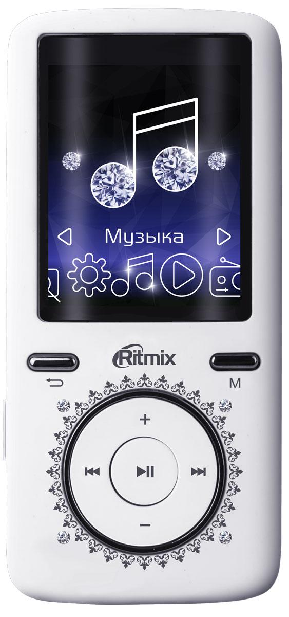Ritmix RF-4750 8GB, White MP3-плеер