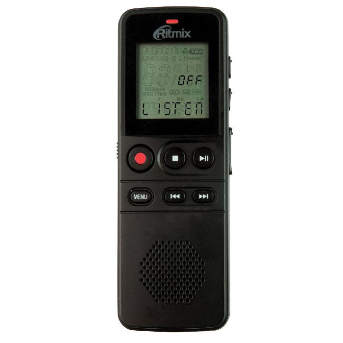 Ritmix RR-810 4Gb, Black диктофон