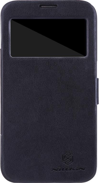 Nillkin V-series чехол для Samsung Galaxy Mega 6.3, Black2000000007441Чехол Nillkin V-series для Samsung Galaxy Mega 6.3 выполнен из высококачественного поликарбоната и искусственной кожи. Он надежно фиксирует и защищает смартфон при падении. Обеспечивает свободный доступ ко всем разъемам и элементам управления. Благодаря функциональному окну отсутствует необходимость открывать чехол для того, чтобы ответить на вызов, проверить время, воспользоваться камерой или любой другой функцией.