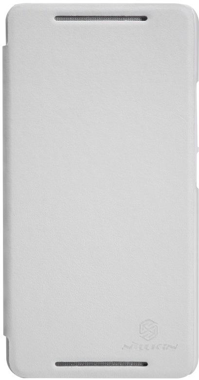 Nillkin V-series чехол для HTC One Max, White2000000008820Чехол Nillkin V-series для HTC One Max выполнен из высококачественного поликарбоната и искусственной кожи. Он надежно фиксирует и защищает смартфон при падении. Обеспечивает свободный доступ ко всем разъемам и элементам управления.
