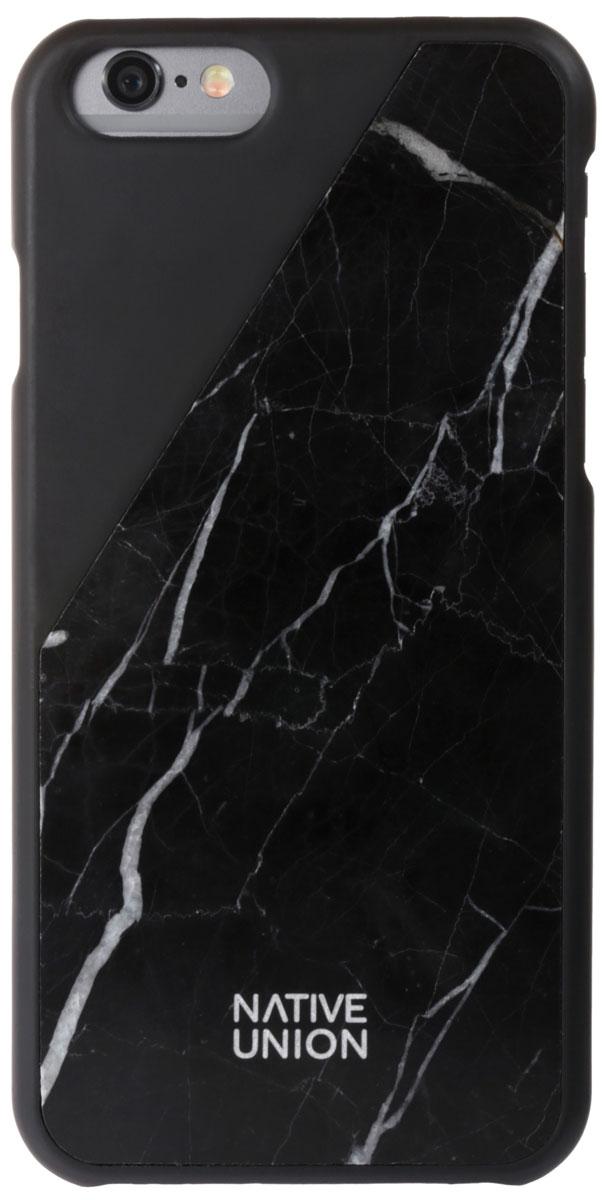 Native Union CLIC Marble мраморный чехол для iPhone 6/6s, BlackCLIC-BLK-MB-6Роскошный аксессуар, первый чехол в мире из натурального мрамора. Каждый чехол обрабатывается вручную, что позволяет сохранить уникальный мраморный узор. Чехол невероятно прочный, стойкий к появлению сколов и царапин, благодаря специальной шлифовке. Приятные тактильные ощущения в комплексе с эксклюзивной защитой.