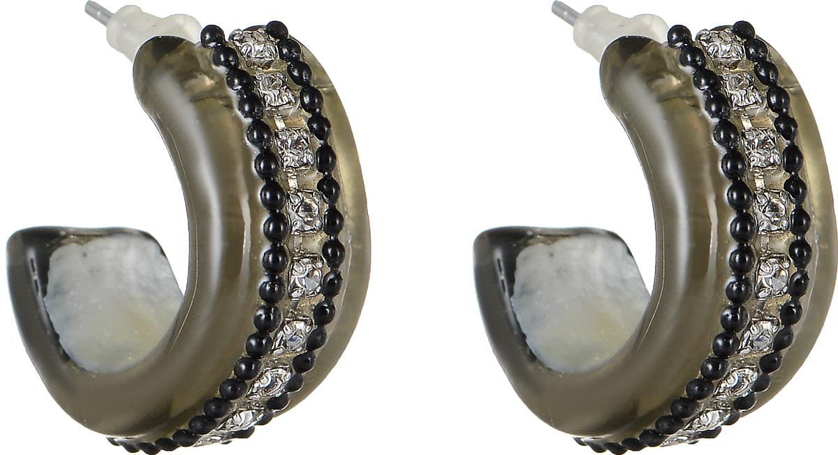 Серьги Lalo Treasures Mon Amour, цвет: серый. E3465-1E3465-1Оригинальные серьги Lalo Treasures Mon Amour изготовлены из металлического сплава, дополнены декоративными элементами из ювелирной смолы. Изделие застегивается на замок-гвоздик с заглушкой, которая надежно зафиксирует серьги. Стильные серьги не оставят равнодушной ни одну любительницу изысканных украшений и помогут создать собственный неповторимый образ.