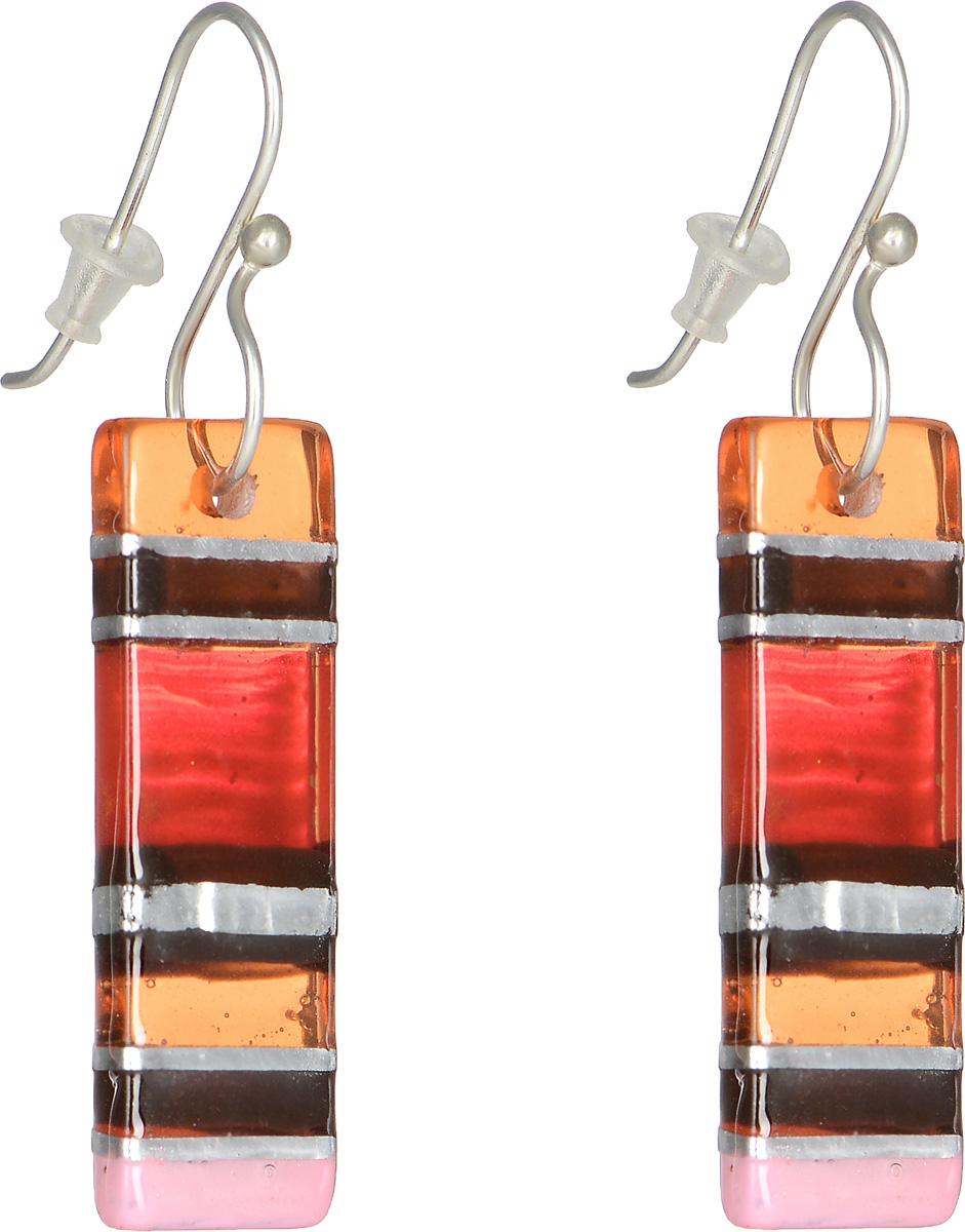 Серьги Lalo Treasures Revolution III, цвет: красный, оранжевый. E3526-4E3526-4Оригинальные серьги Lalo Treasures Revolution III изготовлены из металлического сплава, дополнены декоративными элементами из ювелирной смолы. Изделие оснащено замком-петлей с заглушками, который надежно зафиксирует серьги. Стильные серьги не оставят равнодушной ни одну любительницу изысканных украшений и помогут создать собственный неповторимый образ.