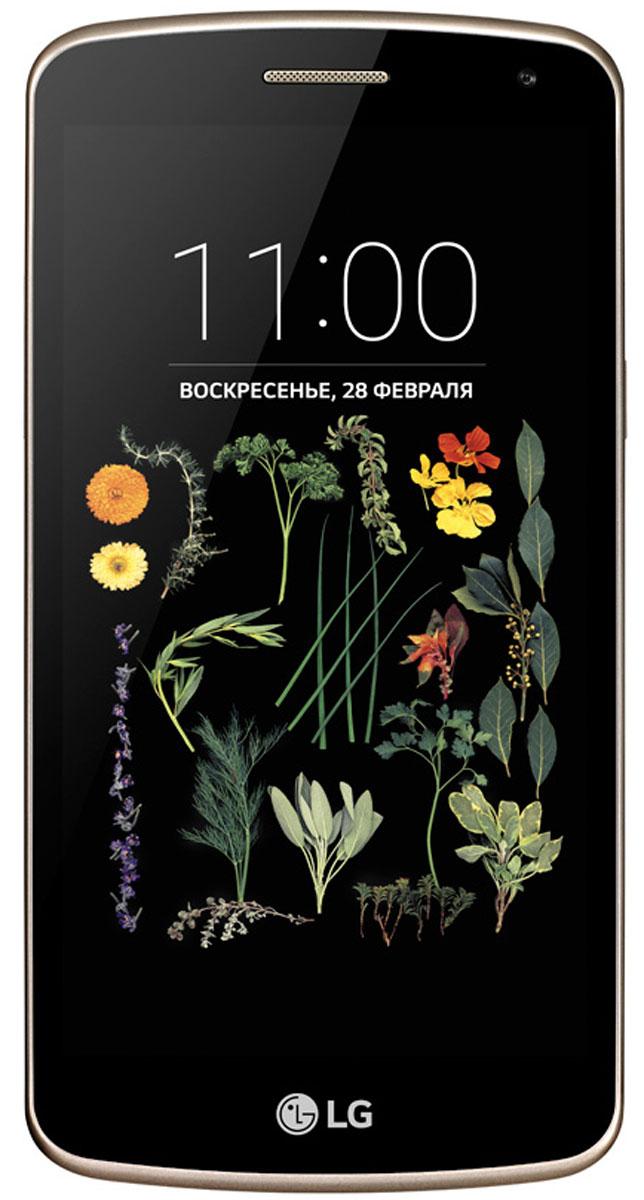 LG K5 X220DS, Black GoldLGX220DS.ACISKGБудьте в центре событий и получайте максимум впечатлений со смартфоном LG K5. 5.0 дисплей и современный дизайн: Позвольте себе больше: на широком и ярком 5-дюймовом дисплее ваши снимки и видео заиграют новыми красками, а стильный дизайн с эффектом металлизированного покрытия дополнит любой образ. Съемка по жесту руки: С функцией съемка по жесту руки вы сможете делать снимки максимально естественно. Покажите ладонь, сожмите в кулак и камера начнет 3-секундный отсчет перед тем как сделать снимок. У вас будет достаточно времени, чтобы принять эффектную позу. При этом обе ваши руки могут быть свободны, а функция сработает на расстоянии до 1,5 метров. Виртуальная вспышка фронтальной камеры: Виртуальной вспышкой стал сам дисплей, который является источником яркого света. Такая вспышка подарит вам четкие и яркие снимки даже в темноте. Съемка в одно касание: Нет ничего важнее ваших впечатлений - не упустите...