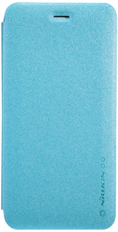 Nillkin Sparkle чехол для iPhone 6/6s, Blue2000000020228Чехол выполнен из высококачественной экокожи и поликарбоната