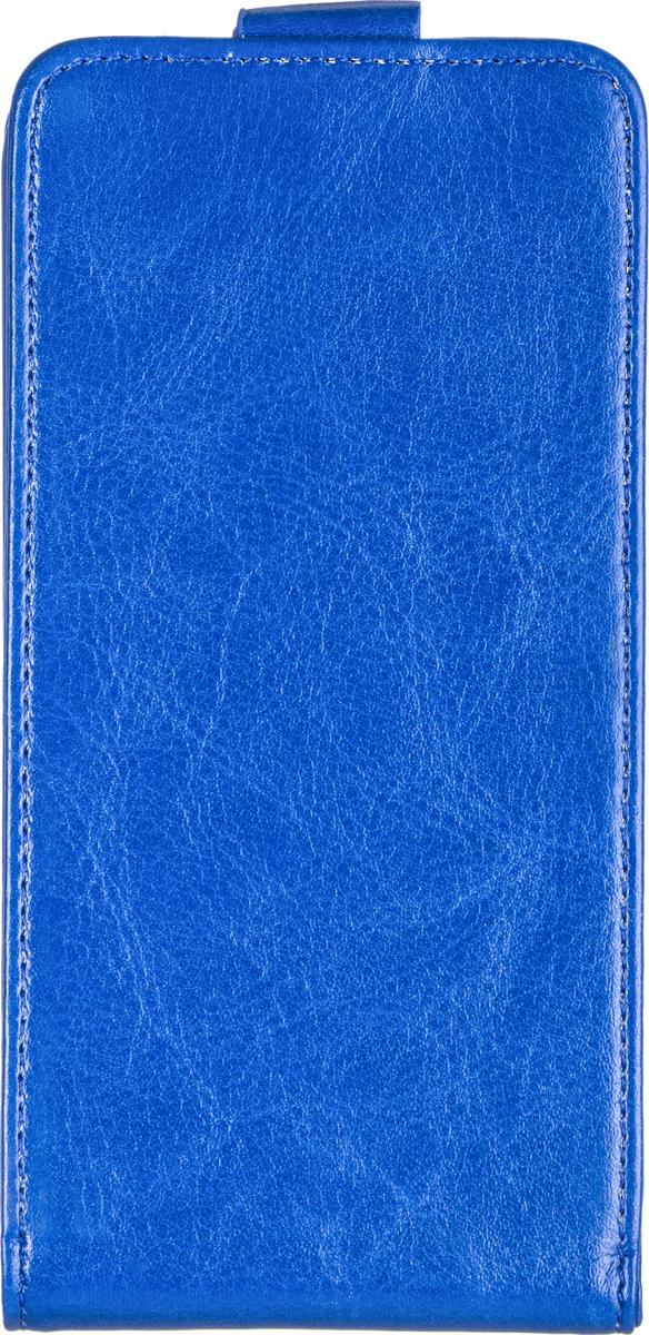 Skinbox 4People чехол для Alcatel One Touch Idol 2 6037Y, Blue2000000058436Чехол Skinbox 4People сделан из высококачественного поликарбоната и искусственной кожи. Он надежно фиксирует и защищает смартфон при падении. Обеспечивает свободный доступ ко всем разъемам и элементам управления.