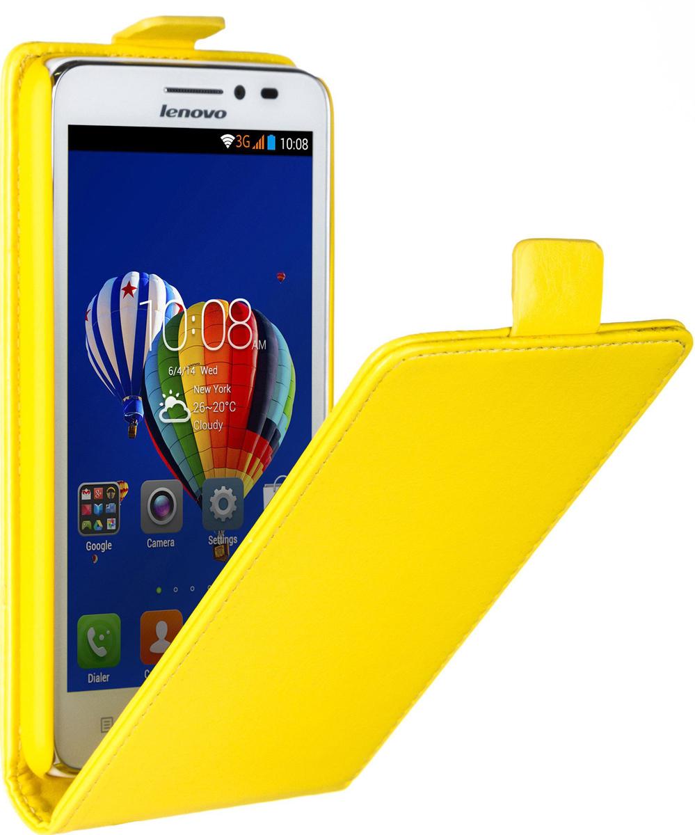 Skinbox 4People чехол для Lenovo A606, Yellow2000000058528Накладка выполнена из высококачественного поликарбоната, плотно прилегает и не скользит в руках.