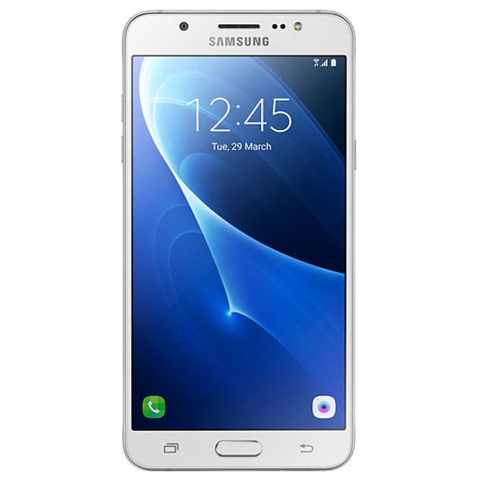 Samsung SM-J710FN Galaxy J7, WhiteSM-J710FZWUSERSamsung SM-J710FN Galaxy J7 - элегантный и надежный смартфон в цельнометаллическом корпусе. Сюжеты из вашей жизни в наилучшем виде Светосильные (F1.9) объективы камер на лицевой и задней панелях - гарантия ярких и четких снимков даже при низкой освещенности. Двойное нажатие кнопки Домой мгновенно активирует режим фотосъемки. Светодиодная (LED) вспышка и режим Beauty обеспечат великолепное качество изображения, а режим Управление жестами сделают это за считанные секунды. Вся информация с одного взгляда Мгновенный доступ ко всей важной информации, включая состояние аккумулятора, объем доступной памяти и состояние системы безопасности. Режим энергосбережения Эффективный режим энергосбережения продлит работу смартфона. Телефон сертифицирован Ростест и имеет русифицированный интерфейс меню, а также Руководство пользователя.