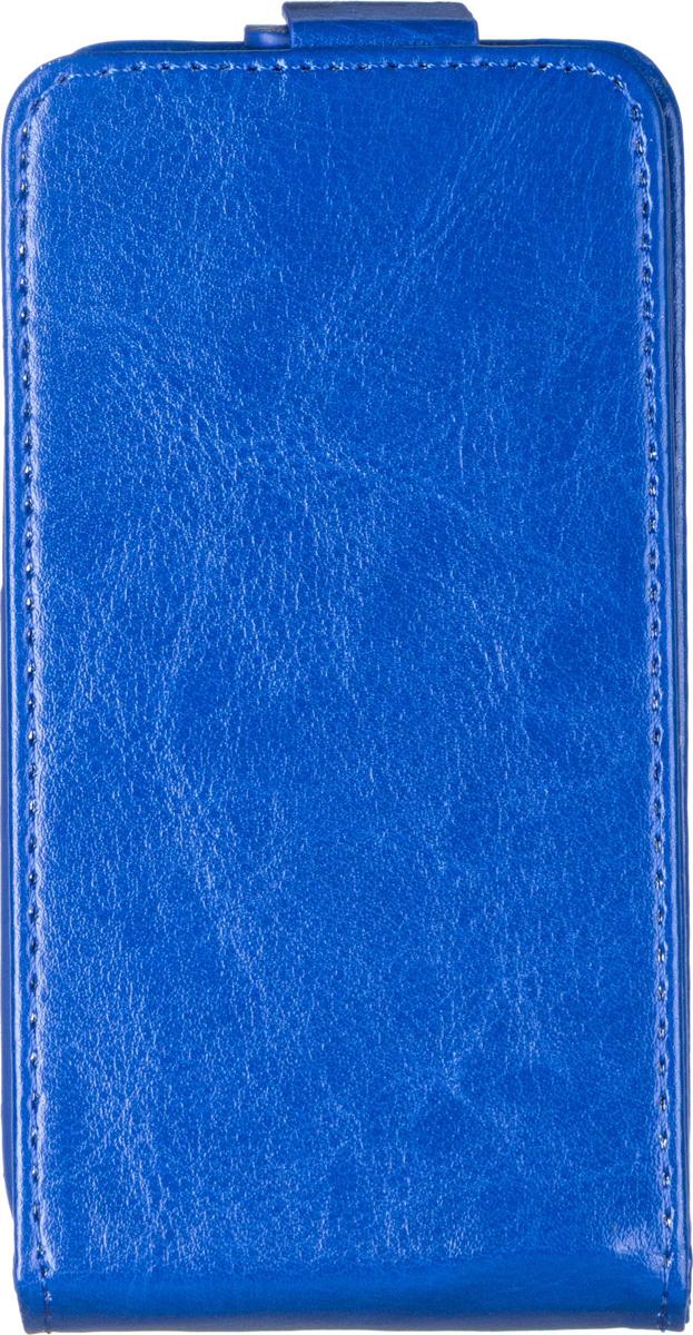Skinbox Flip Case чехол для Nokia X2, Blue2000000058733Чехол-накладка Skinbox 4People для Nokia X2 бережно и надежно защитит ваш смартфон от пыли, грязи, царапин и других повреждений. Выполнен из высококачественного поликарбоната, плотно прилегает и не скользит в руках. Чехол-накладка оставляет свободным доступ ко всем разъемам и кнопкам устройства.